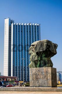 Chemnitz, Marx-Denkmal