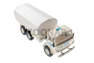 Toy with un symbolic truck