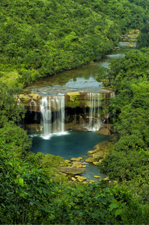 Krang suri waterfall, aintia Hills District, Meghalaya, India