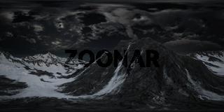 VR 360 Norway Mountains Severe Landscape