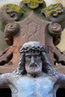 Steinkreuz, Detail