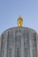 Oregon State Capitol Building in Salem, Oregon