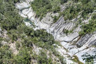 Travu Valley, Chisà, Corse, France