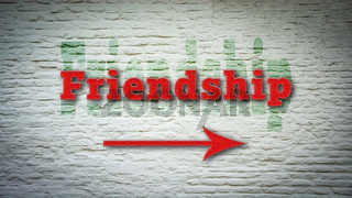 Street Sign to Friendship
