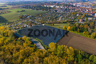 Solarfarm bei Quedlinburg