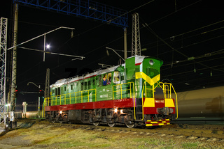 locomotive or engine is a rail transport vehicle that provides the motive power for a train.