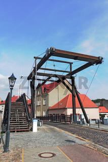 Klappbrücke in Storkow (Mark)