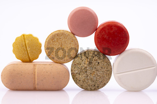 Pharmaceutical industry drugs pills vitamins