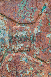 Old rusty gasoline canister texture