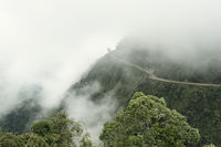 The Death Road - The Most Dangerous Road In The World, North Yungas, Bolivia