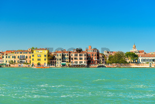 View of Venice in sunny weather