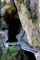 Slowenien, Höhlen von Skocjan