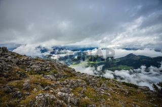 Bayerische Alpen im Herbst