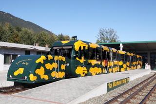 Puchberg/Österreich - 2018-10-05: Zug der Schneebergbahn (editorial)