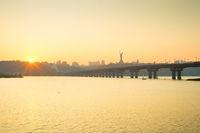 Dnipro river Mother Motherland Kiev
