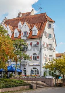 Historisches Gebauede, Gaststaette, Hüfingen im Schwarzwald