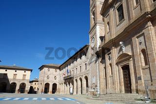 Caldarola in Italien