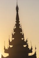 Amazing Sunset in Mandalay, Myanmar (Burma)