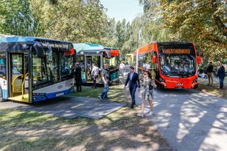Elektrobusse auf der Innotrans 2018