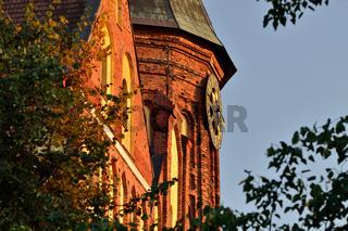 Der Dom von Koenigsberg, der gotische Tempel aus dem 14. Jahrhundert. Symbol Kaliningrad