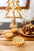 Christmas baking - fruit mince tarts