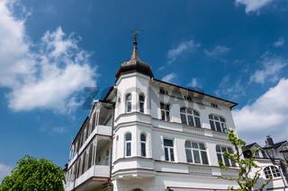 Haus in Binz auf der Insel Rügen