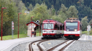 Zell am See/Oesterreich - 2019-Okt-03: Zuege der Pinzgauer Lokalbahn (redaktionell)