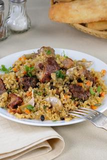 Bulgur with meat