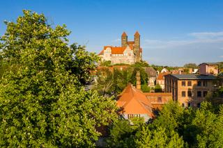 Welterbestadt Quedlinburg Harz Luftbilder