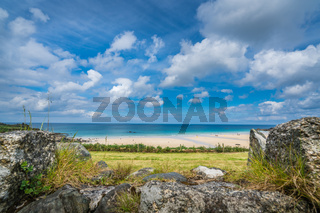 Porthmeor Beach in St Ives