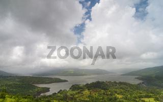Koyna dam backwaters, Maharashtra, India
