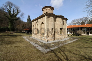 The church of the ancient Zemen Monastery