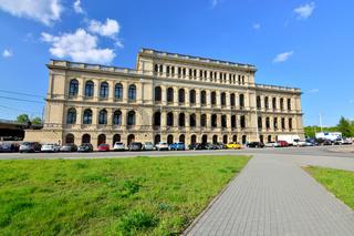 Kaliningrad, Russland-13. Mai 2017: Bau der ehemaligen Börse Koenigsberg, Touristenattraktion der St