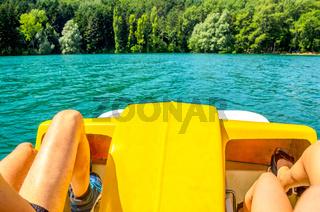 pedalo paddle boat