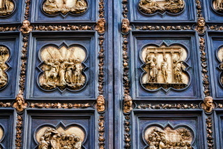 Florenz, Baptisterium Nordportal